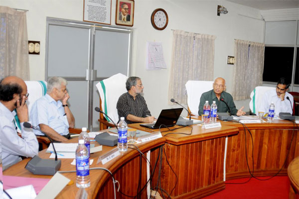 Deliberations with eminent academicians in Medical Research and Science, like Dr. Rajan Gurukkal (Former Vice Chancellor, 						MG University) Dr. M S Valiathan (National Research Professor),  Dr. K Mohandas (Former Vice Chancellor, KUHS), Dr. Ramachandran Thekkedath  						(Former Vice Chancellor, CUSAT),   Dr. B Iqbal (Former Vice Chancellor, University of Kerala) Dr. Mini Nair (Amrita Institute of Medical Sciences)  						and Dr. Satheesh Mundayoor (Dean & Scientist G, Rajiv Gandhi Centre for Biotechnology)